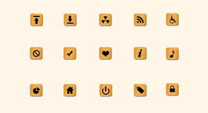 Free All Purpose Icon Set PSD by terrenceforever