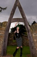 Alice At The Entrance Of Wonderland by DundeePhotographics