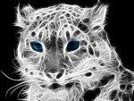 snow leopard Fractalius by Carito93