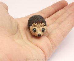 Tiny Little Hedgehog by LitefootsLilBestiary