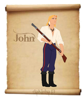 Western Disney - John Smith by daKisha