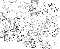 Have a Sonic Boom fanart by Fly-Sky-High