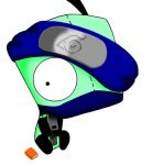 Gir as Kakashi colored by eomsnillor