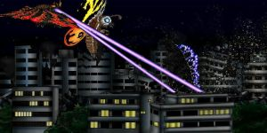 Godzilla vs Mothra 1992 by MrJLM18