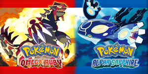 Omega Ruby and Alpha Saphire Wallpaper by Mattpc