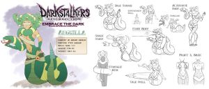 Darkstalkers Embrace the Dark - Anguilla by deli-Yu