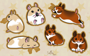 Hampsters by SirMeo