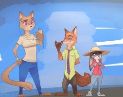 Zootopia fan art by Or1s