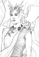 Daenerys // Color the Queen Contest by Loustration