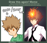 Draw This Again - Tsuna by cakwe