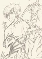 Rise Of The Guardians Sketches. by Edwards-daughterxoxo