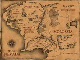 The Magic Map of Molossia by mapacheanepicstory