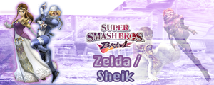 SSBB Zelda and Sheik Siggy by ChibiYugi