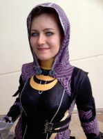 Tali'Zorah 2.0 at Gold Coast Supanova 2013 (5) by JuuriCostumes