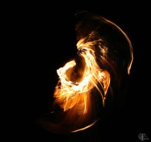 Monster in the Flame... by Steadholder