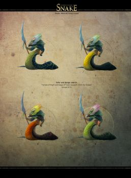 Snake.Neutral Forest Guar. Color and design search by shpacia