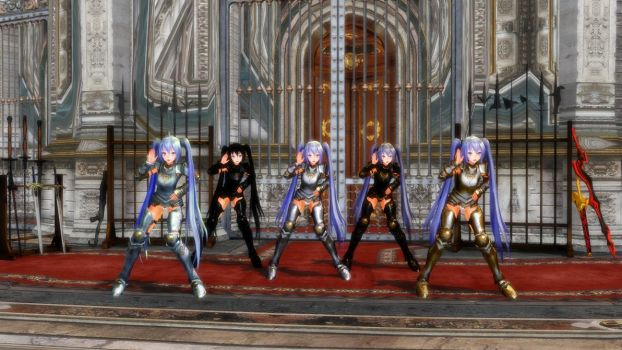 MMD Matchless Warriors 1 by OldMagician