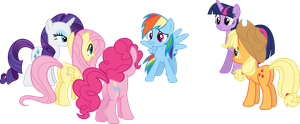 You girls are the greatest friends ever by porygon2z