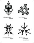 Vesperia Town Crests - Part 1 by fishytasty