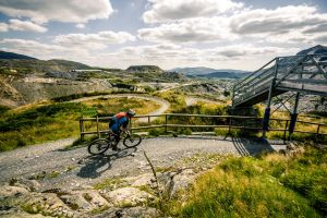 Wales Snowdonia Downhill Mountain biking by Samuel-Benjamin