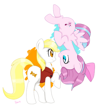 [Commission] Sugar Song and Butterscotch by Ashourii