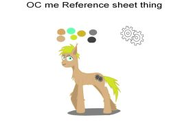 Oc me reference by thelastlonewolf