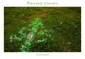 Painted Clovers by yourmetaphor
