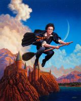 Harry Potter Parrish by adammcdaniel