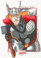 CW - Thor by KerrithJohnson