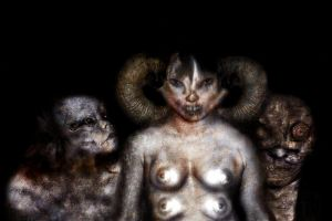 Portraits from hell 1 by dcf