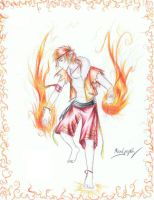 Fire Bender by PencilWarrior