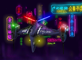 Armed police cruiser by Waffle0708