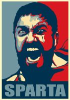 Obama? This is Sparta by Pizzasemmel
