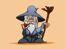 I Geek Weekly: Gandalf the Grey by JoshuaFitzpatrick