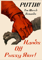 Hands Off Pussy Riot! by poasterchild