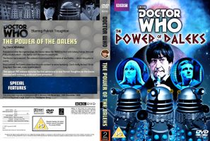 The Power Of The Daleks DVD Cover by Cotterill23
