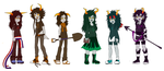 Fantrolls: The Girls (Completed) by Ayane-chin34
