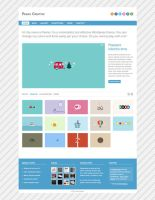 Peano - Free Homepage PSD by elemis