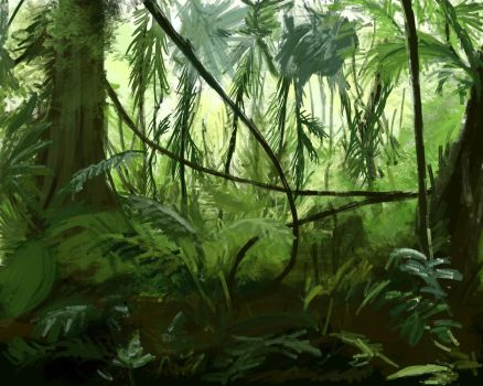 It's A Jungle Out There by Poteto-Man