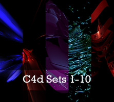 C4d Sets 1-10 Pack by psychicmind