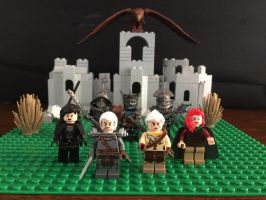 Witcher 3 Custom made Lego mifinfigures by lovingthor