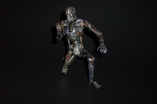 Damaged Endoskeleton - 7-Inch Scale Custom Figure by Drakhand006