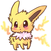 Jolteon by Magicpawed