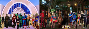 The Justice League Of America by misstudorwoman