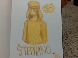 Ellos Pewdie... i am Stephano by yellowvest123