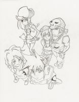 The World Ends With You lines by katielynn456