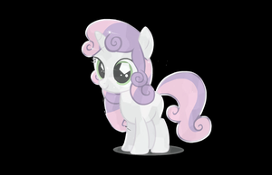 Crystal Sweetie Belle by 0ColorPaint0