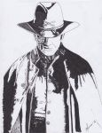 Jonah Hex lines by jeanblansa
