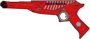 Killjoy Gun Design by nininoonoo