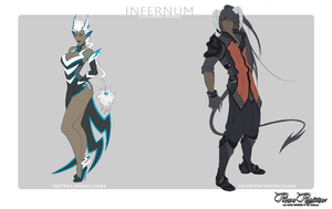 PR: Infernum Clothing Guide by ophiurida